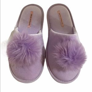 Victoria's Secret purple slippers size large